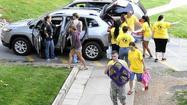 McDaniel freshmen begin their college journeys