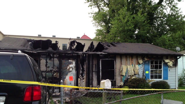 Video: Hampton home destroyed in fire