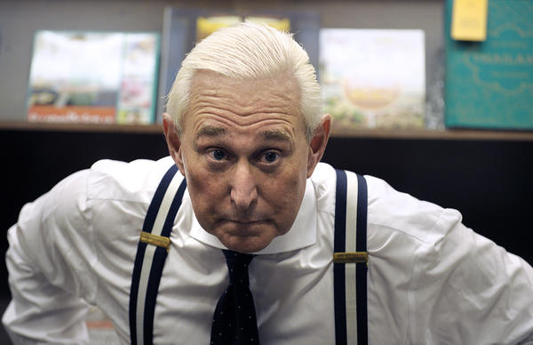 Roger Stone has nestled into Broward County, and into the Broward County Sheriff's Office