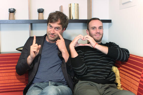 Mark Duplass and Charlie McDowell of 'The One I Love'