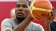 Under Armour in tussle to try to pull NBA's Kevin Durant away from Nike