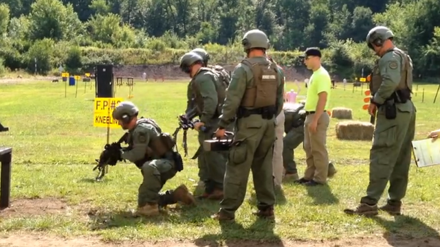 Video: Sights And Sounds of The CT Swat Challenge