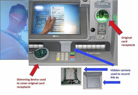 Skimmer device found at ATM in Casselberry
