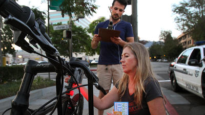 Campaign lights the way to bike safety