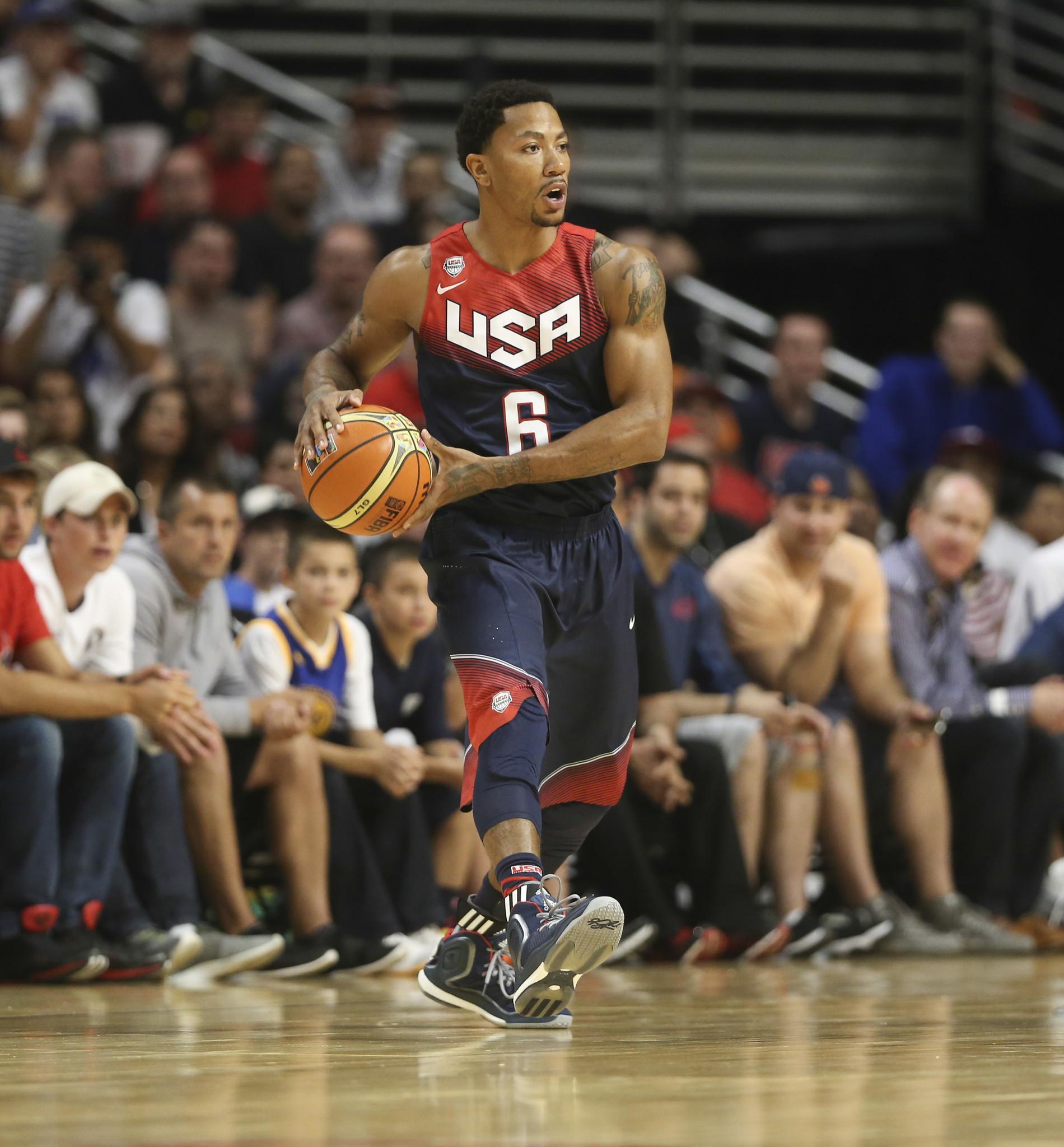 Derrick Rose Team USA