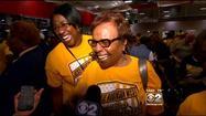 Hundreds cheer JRW from Chicago