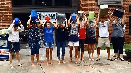 "<span style=""color:#ff0000""><b>Video:</b></span> The Virginia Gazette takes the ALS Ice Bucket Challenge"