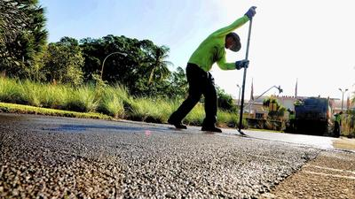Fort Lauderdale road repaving repulses residents