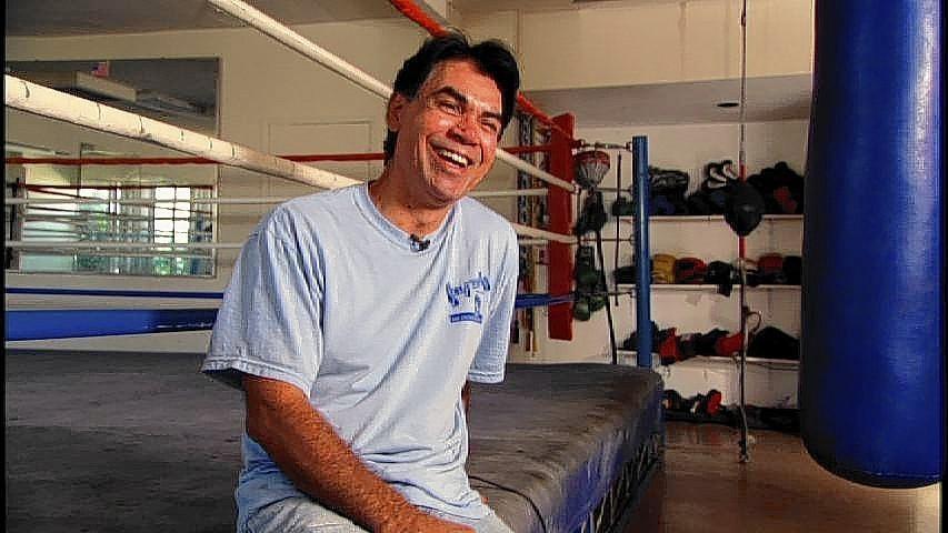 El ex campeón mundoal, Carlos Palomino