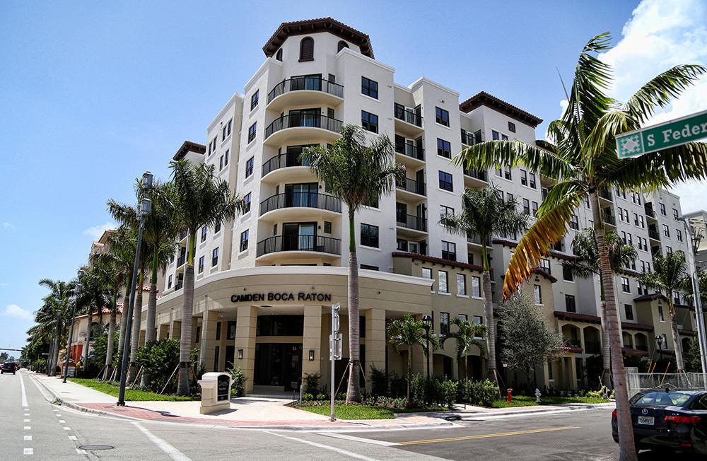 Camden Boca Raton Boca S Newest Rental Property Sun