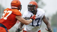 Defensive lineman Jihad Ward living his dream at Illinois