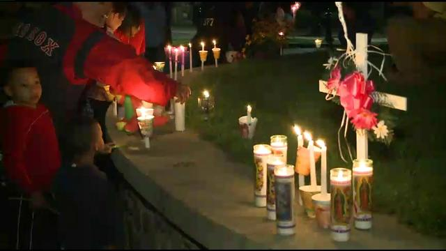 Vigil Held For Bristol Baby Who Was Killed