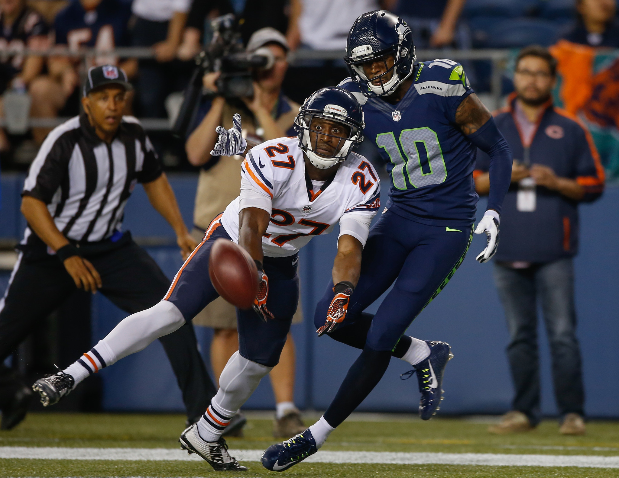Bears starters no match for Seahawks in 34-6 loss