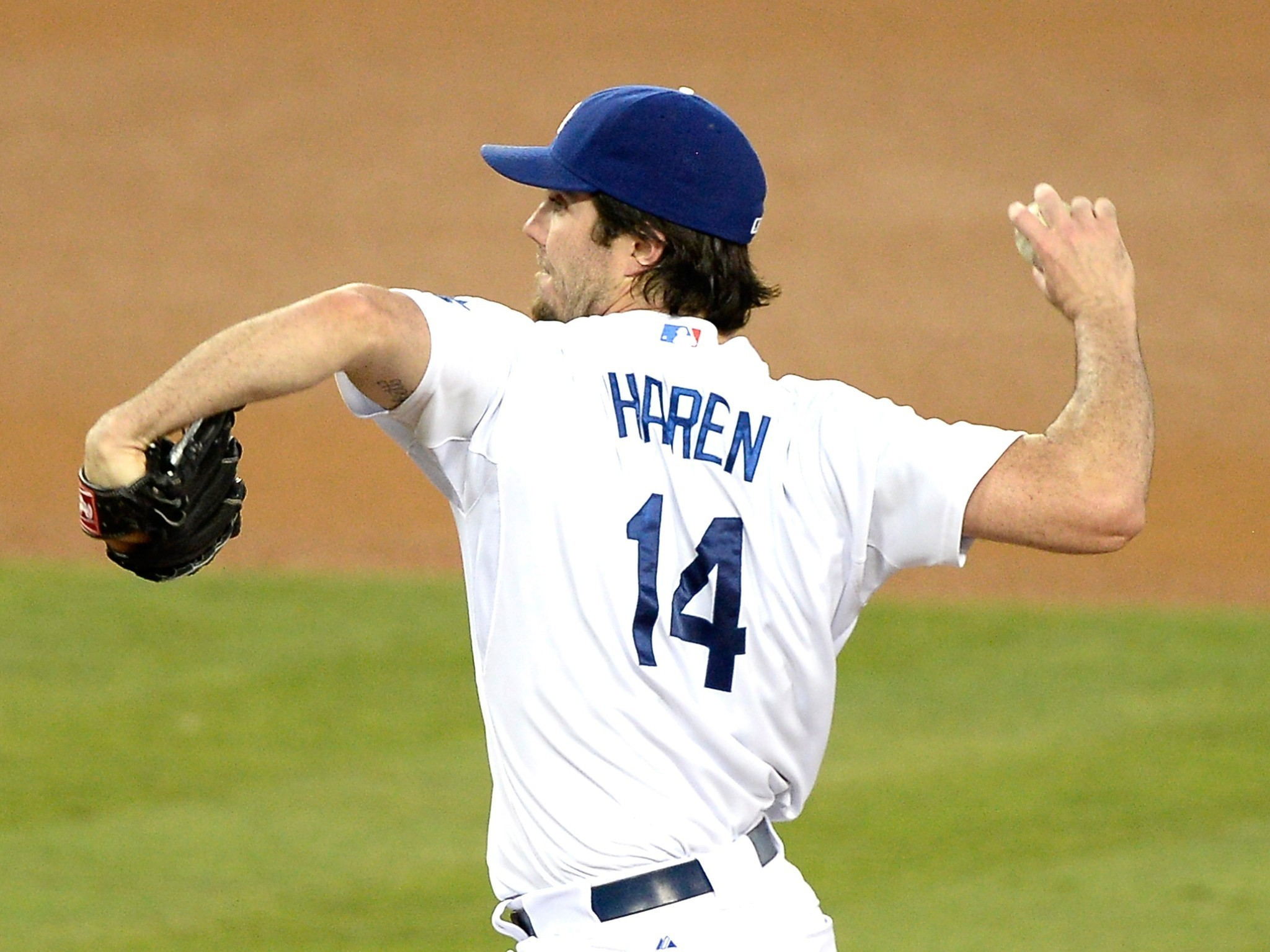 Dan Haren might have a future with the Dodgers