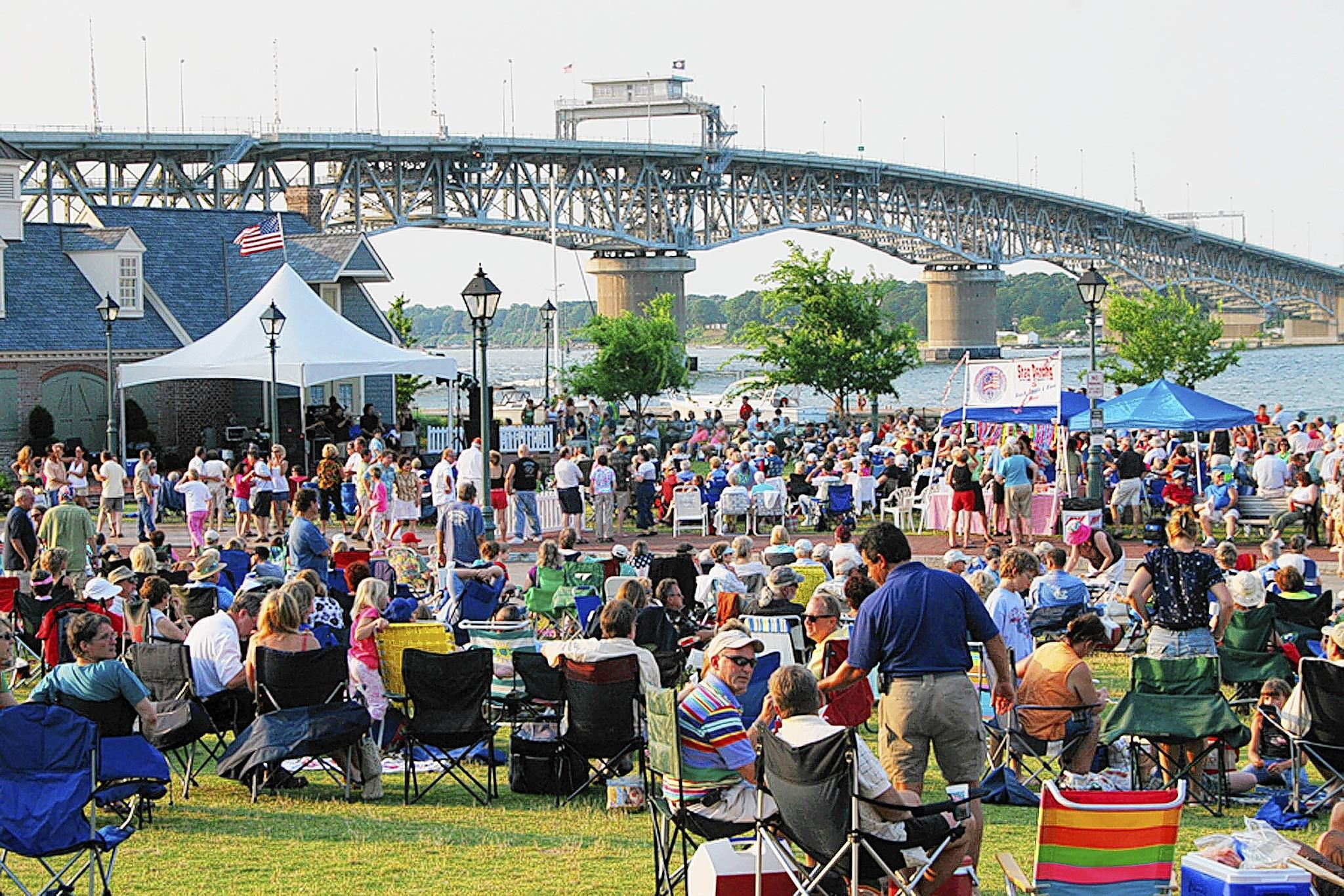 York County arts programs include the popular Shagging on the Riverwalk Beach Music Concert Series. Yorktown will present an arts fundraiser on Aug. 29 at the Freight Shed on Riverwalk Landing.