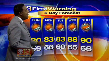 WJZ weather forecast for Saturday [Video]