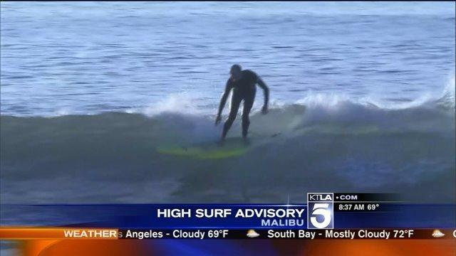 SoCal beachgoers warned of high surf, dangerous rip currents [Video]