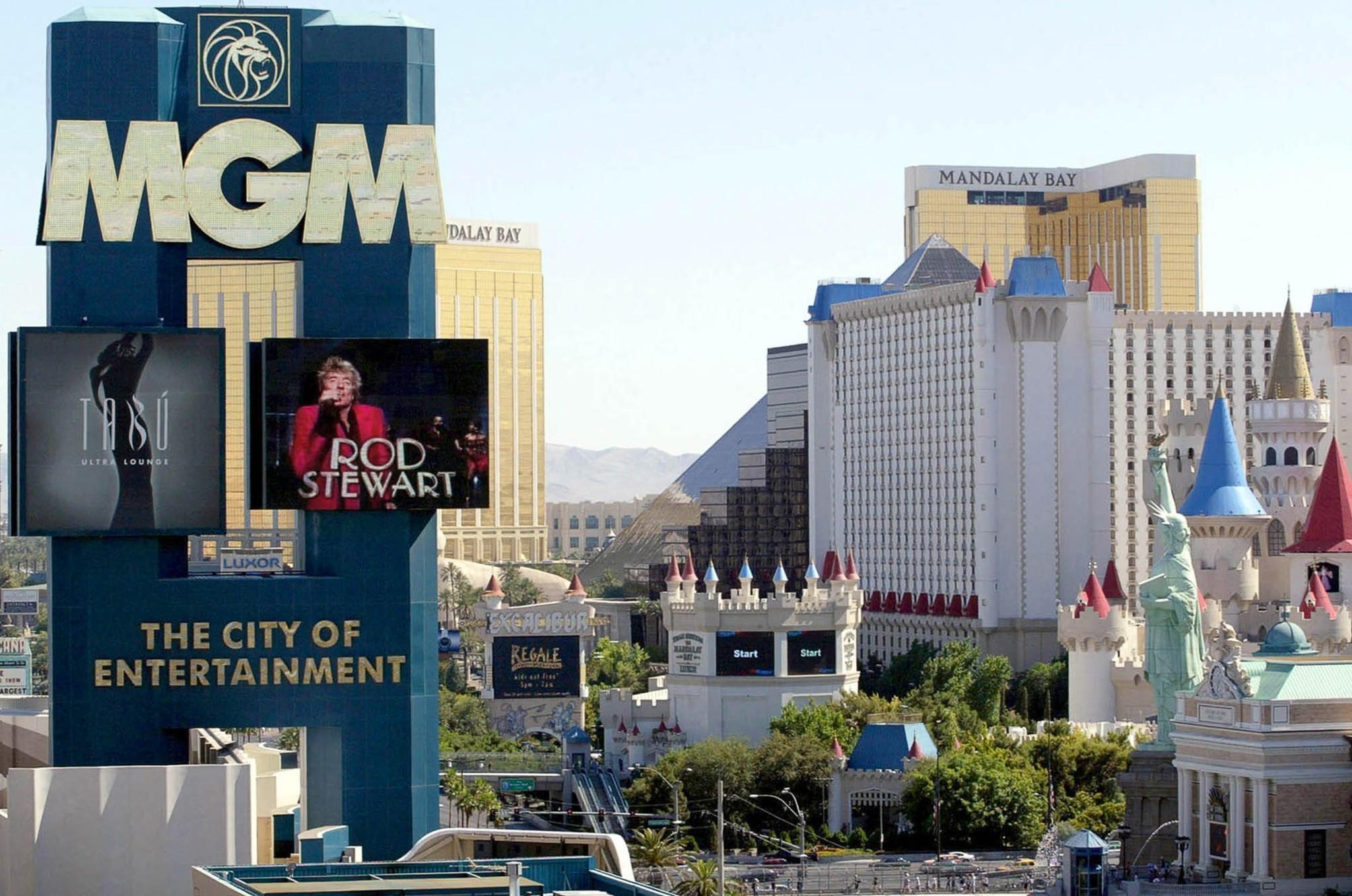 mgm grand slot machine list