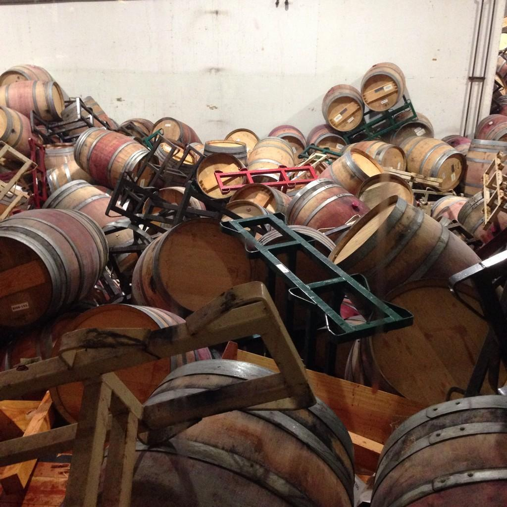 Napa Valley wineries sustain damage - 140.2KB