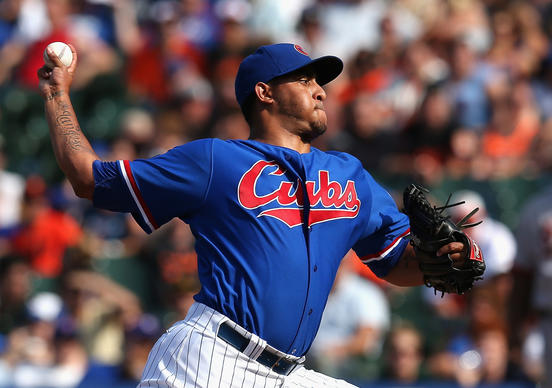 Hector Rondon pitches in the 9th inning for his 21st save of the year.