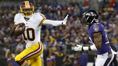 In Saturday's win over Redskins, Ravens' pass rush continued to create problems