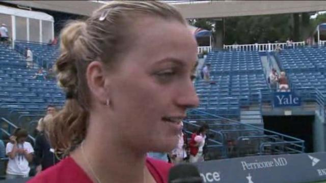 Petra Kvitova Talks to Jayme Parker About Winning The CTOPEN