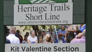 Kit Valentine Trail Dedication [Pictures]