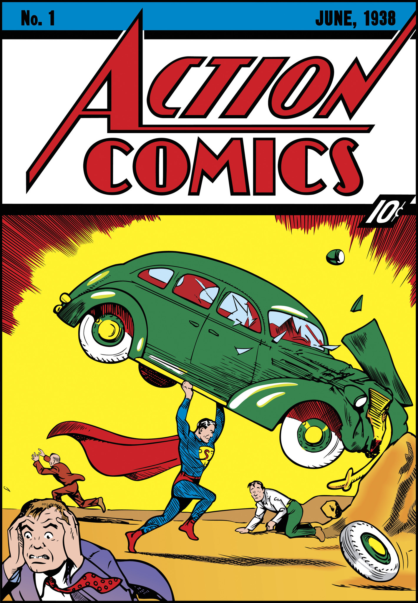 First Superman comic book sells for record-breaking $3.2 million - LA ...
