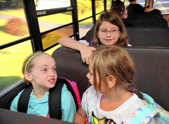 north bend students go back to school with harford