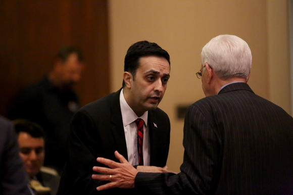 Khan takes shot at Emanuel