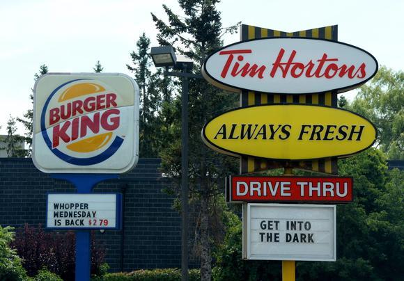 Burger King-Tim Hortons deal