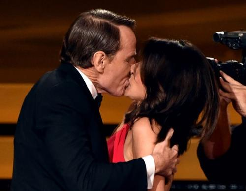 Bryan Cranston and Julia Louis-Dreyfus