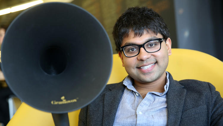 Pavan Bapu, co-founder, Gramovox