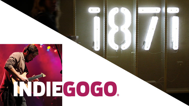 IndieGoGo and 1871 announce partnership