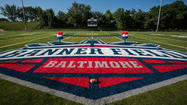 Under Armour-donated Banner Field in Locust Point is completed