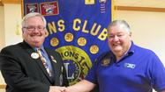 District governor attends club meeting