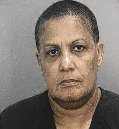 Broward Health North employee Ina Thompson, 54, of Lauderhill, was arrested Monday after deputies say she stole a $1,100 necklace and $50 from a patient, who is over 65.