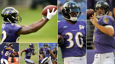 Fantasy football projections for the Ravens' top offensive players