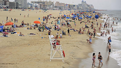 Swimming restrictions in place in Ocean City as Cristobal stirs up seas, drowning Va. teen