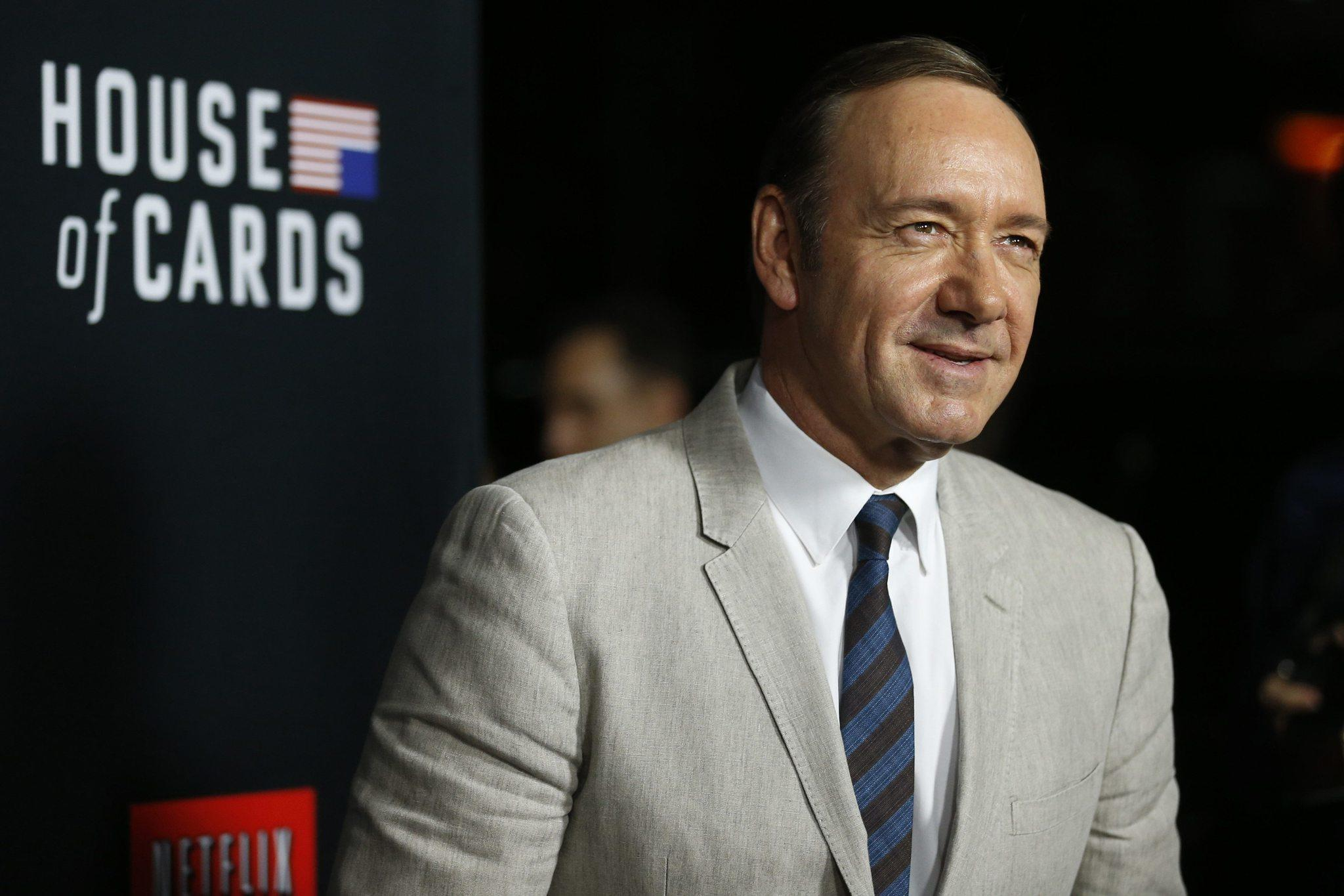 "Kevin Spacey, shown here at the second-season premiere of the Netflix series ""House of Cards,"" will showcase his musical side at D.C.'s Shakespeare Theatre on Sept. 29."