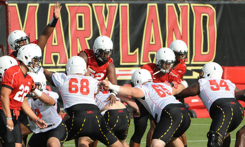 <br> The defensive line is not a major concern. The Terps return all three starters along the defensive front as well as senior Keith Bowers, who will share time with Darius Kilgo at nose tackle. However, the offensive line is a question mark. Coaches and players have raved about the progress the line has made under new offensive line coach Greg Studrawa, but it remains to be seen how well Silvano Altamirano can hold up at left guard. Likewise, head coach Randy Edsall has been highly complimentary of new left tackle Michael Dunn. However, Dunn has never played left tackle in an actual game.<br> <br>