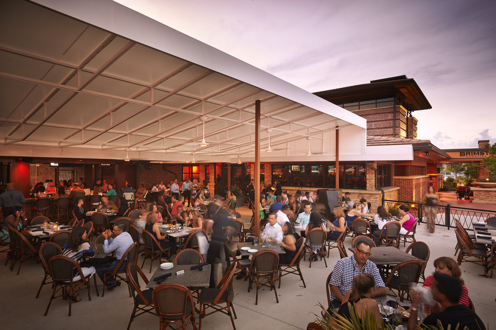Brimstone Woodfire Grill upgrades patio area - Sun Sentinel