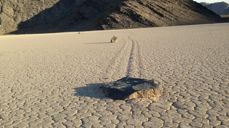 Death Valley rock mystery