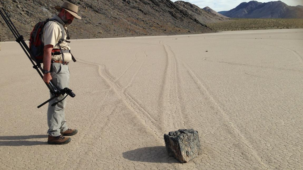 Moving rock mystery solved