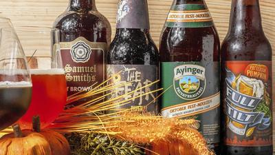 Well-crafted fall beers will warm both tummy and soul