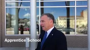 Video: Sen. Tim Kaine at Apprentice School