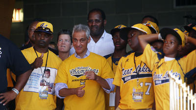 The Jackie Robinson West Championship Parade