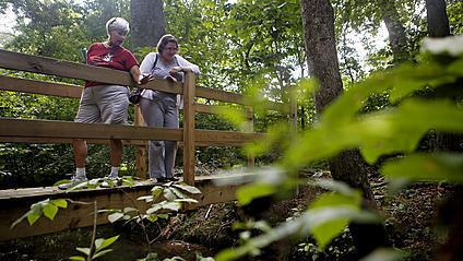 Video: Trail restoration at Endview Plantation