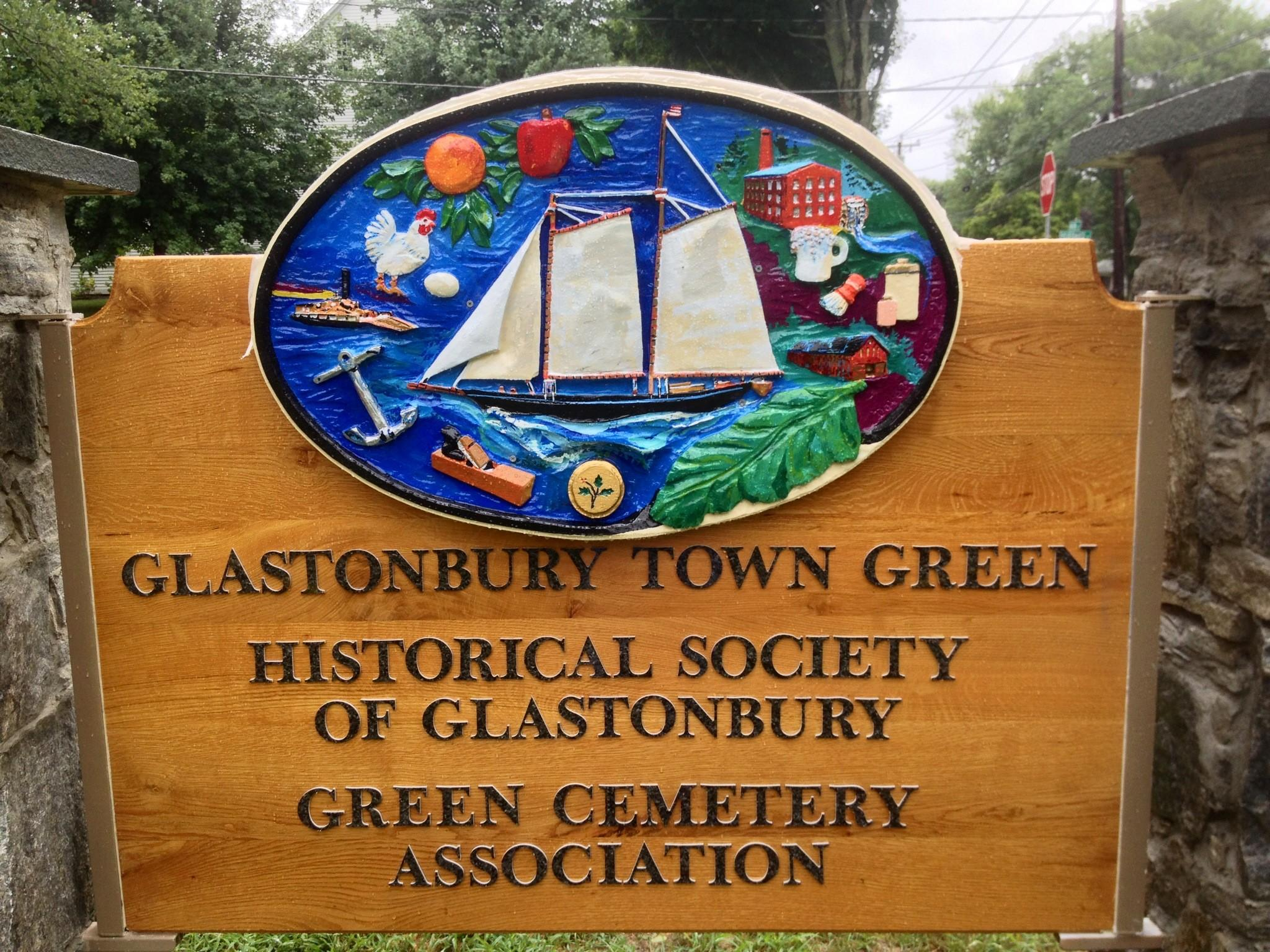 So what's in a sign? Plenty of Glastonbury's history.