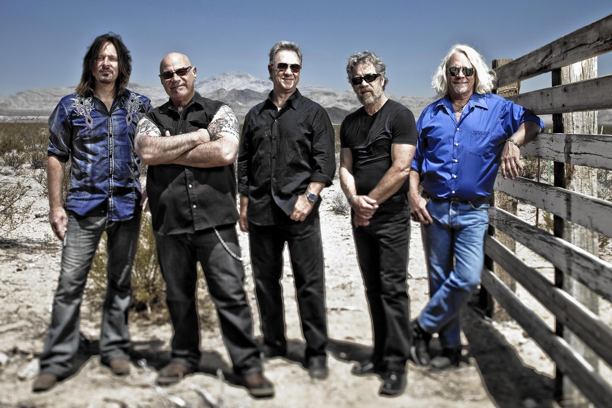 Creedence Clearwater Revisited will play at the American Music Festival in Virginia Beach. Bassist Stu Cook and drummer Doug Clifford are third and fourth from the left.